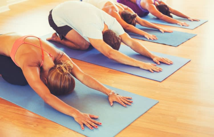 Yoga's Benefits Stretch Out