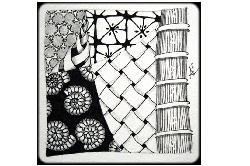 Meditation Through Zentangle