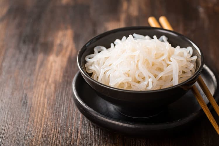 Bowled Over By Shirataki Noodles